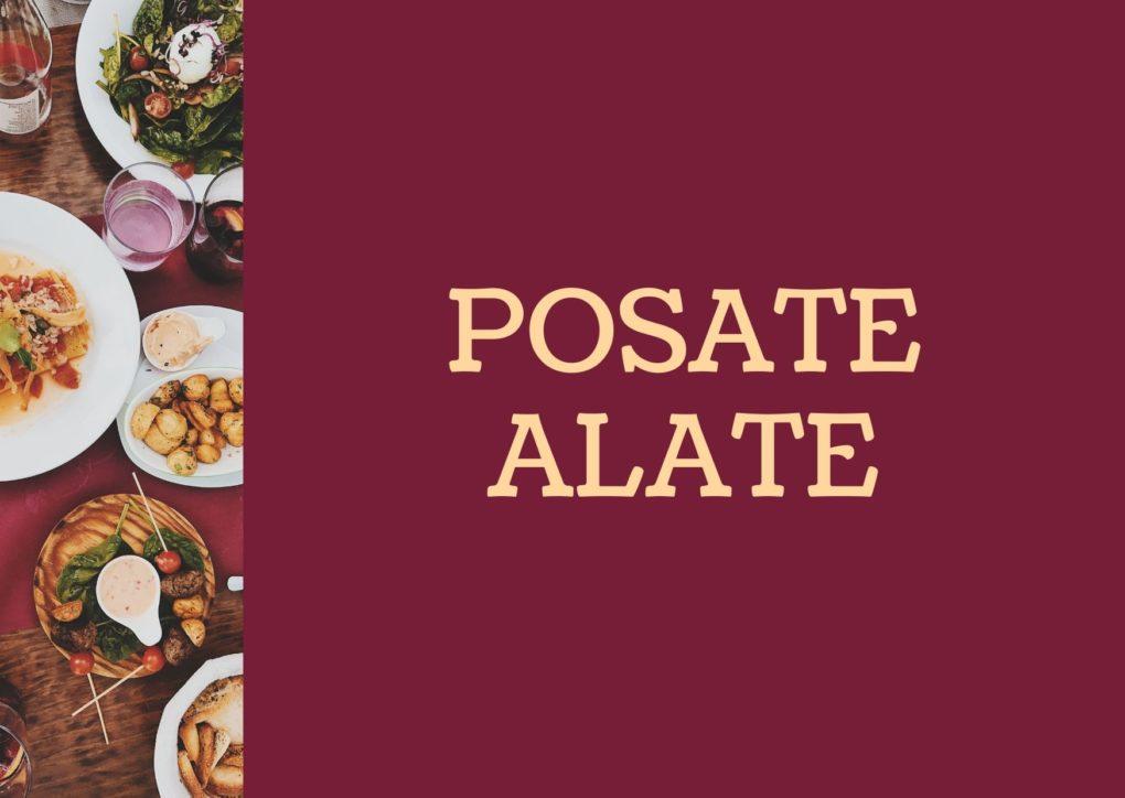 POSATE ALATE